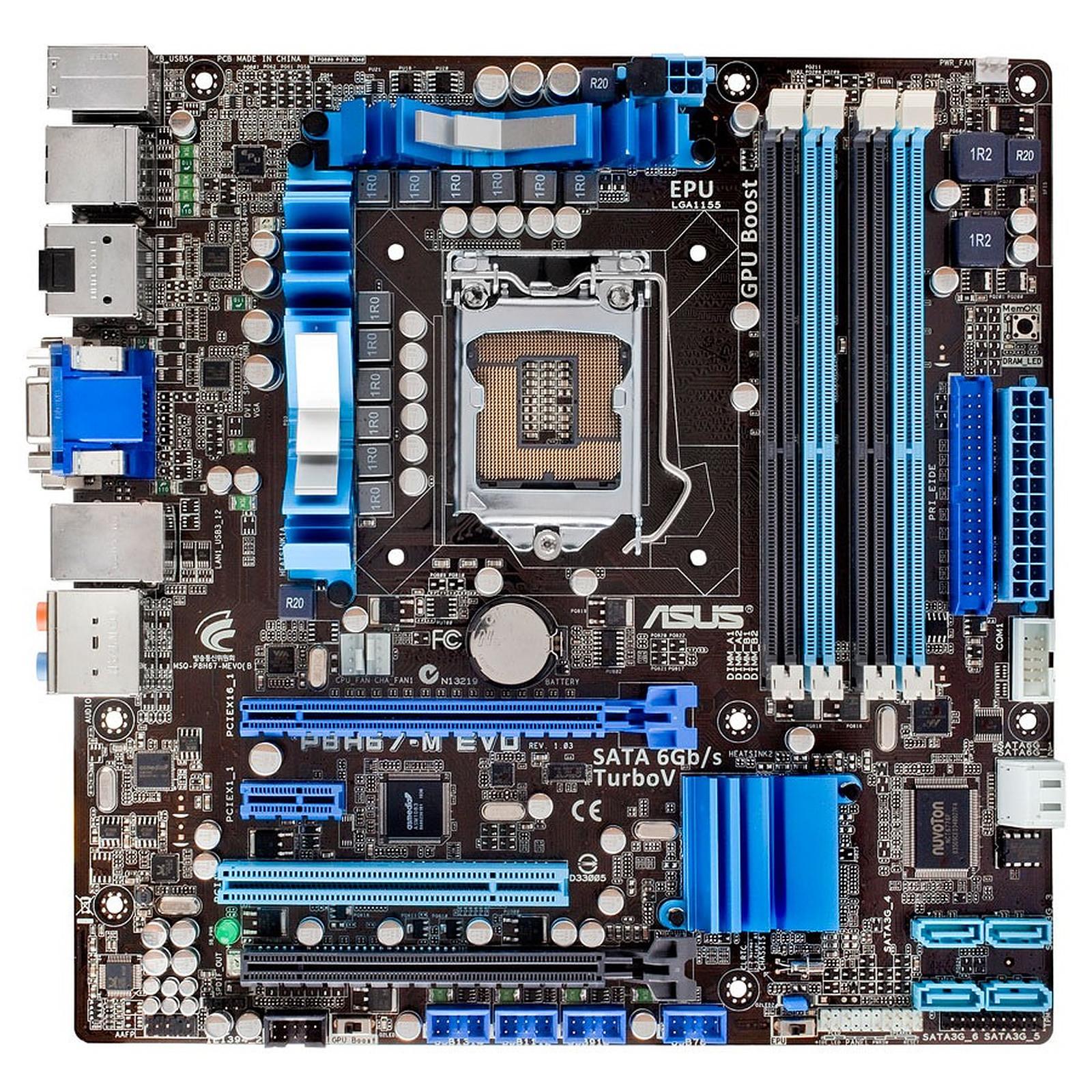 Asus P8H67-M EVO motherboard
