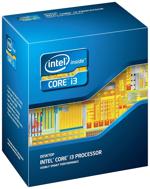 Intel Core i3-2100 CPU box shot